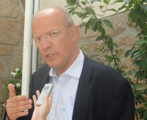 Augusto Santos Silva, ex-ministro da Defesa
