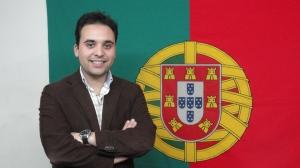 Sérgio Lopes, líder da distrital de Braga da Juventude Popular