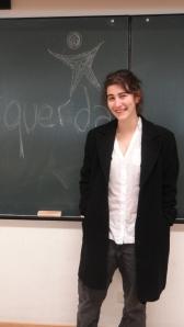 Ana Bárbara Pedrosa, representante do Bloco de Esquerda