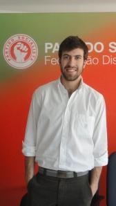 Pedro Sousa, líder da JS Braga